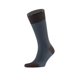 фото Носки мужские Teller Classic Color Rib. Цвет: коричневый. Размер: 42-43