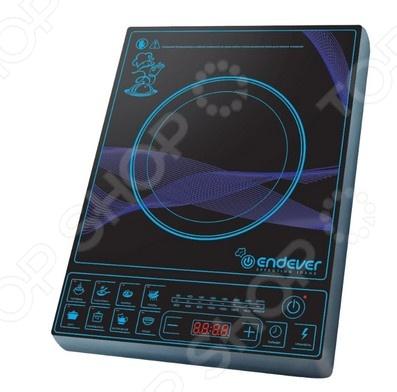 Плита настольная индукционная Endever IP-28 электрическая плита endever ip 28 закаленное стекло индукционная черный [80033]