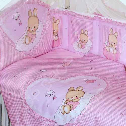 фото Комплект в кроватку Золотой Гусь «Степашка», Постельные принадлежности для новорожденных