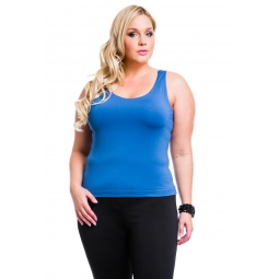 фото Майка Mondigo XL 335. Цвет: джинсовый. Размер одежды: 50