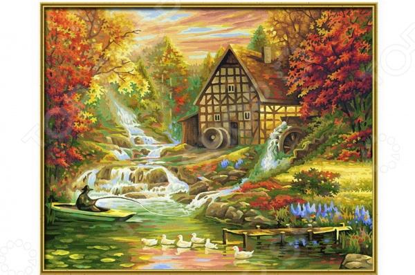 Набор для рисования по номерам Schipper «Осень»Наборы для рисования по номерам<br>Набор для рисования по номерам Schipper Осень это отличная раскраска, которая точно понравится любителям заниматься изобразительным искусством. Живопись по числам становится очень популярной, ведь картин огромное множество и вы можете подобрать именно то, что хочется вам. В процессе рисования человек открывает душу, чувствует связь с миром и со своей глубинной сущностью. Процесс рисования представляет собой процесс создания фантастического мира, в котором все будет идеальным. Во время раскрашивания ребенок развивает мелкую моторику пальцев, фантазию и усидчивость. Но, такая картина может стать прекрасным подарком и для взрослого человека, ведь рисование так успокаивает после трудового дня. Размер картины: 40х50 см.<br>