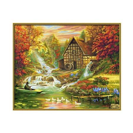 Купить Набор для рисования по номерам Schipper «Осень»