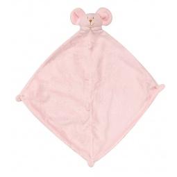 фото Покрывальце-игрушка Angel Dear Мышь. Цвет: розовый