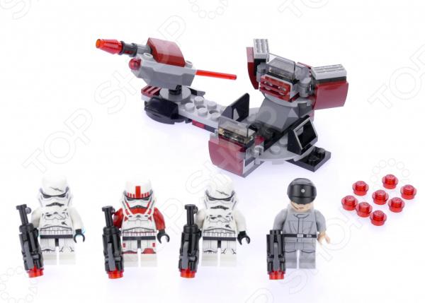 Конструктор игровой LEGO «Галактическая Империя»Конструкторы LEGO<br>Конструктор игровой Lego Галактическая Империя отличный подарок как для детей, так и взрослых. За десятки лет существования бренд успел завоевать любовь миллионов людей по всему миру, ведь компания с большим вниманием относится к созданию своей продукции. Они постоянно воплощают новые идеи, при этом концепция деталей остается практически неизменной. Это означает, что элементы разных наборов совместимы между собой. Конструкторы такого типа развивают пространственное и логическое мышление, фантазию, творческие способности и мелкую моторику рук. А с каждым новым набором в коллекции будут расширяться варианты игровых сценариев.<br>