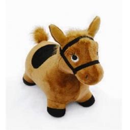 фото Игрушка-попрыгунчик Наша Игрушка «Лошадка». Цвет: коричневый