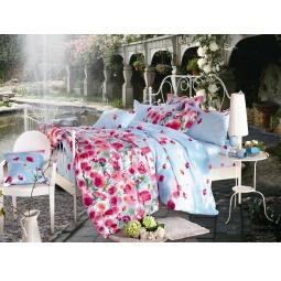 фото Комплект постельного белья Amore Mio Maki. Provence. Семейный