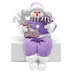 фото Игрушка новогодняя Новогодняя сказка «Снеговик» 949196