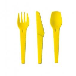 фото Набор столовых приборов IRIS Barcelona I8413. Цвет: желтый