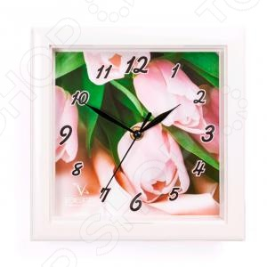 Часы настенные Вега П 3-7-115 «Тюльпаны»