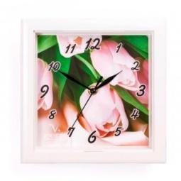 фото Часы настенные Вега П 3-7-115 «Тюльпаны»