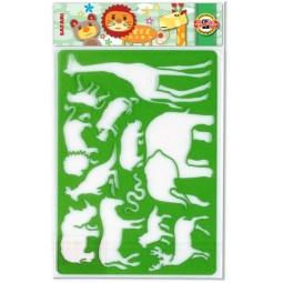 фото Трафареты для детского творчества Koh-I-Noor «Сафари»