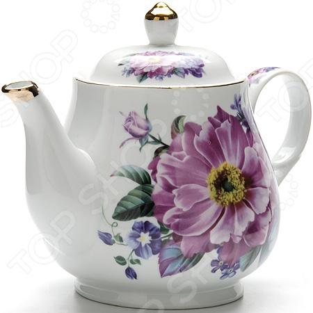 Чайник заварочный Loraine LR-24566 чайник заварочный loraine lr 23768 0 7л белый с рисунком ромашки