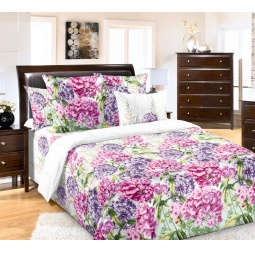 фото Комплект постельного белья Королевское Искушение «Флоксы». 2-спальный. Размер простыни: 220х195 см