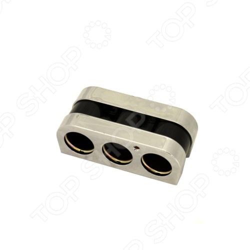 Разветвитель прикуривателя FK-SPORTS CLS-834Разветвители прикуривателя<br>Разветвитель прикуривателя FK-SPORTS CLS-834 обязательно пригодится тем, кто много времени проводит за рулем. Зачастую, салон современного автомобиля по наполнению электрооборудованием не уступает рабочему кабинету. Видеорегистратор, магнитола, навигатор, ионизатор воздуха, трансмиттер и многое другое можно подключать к автомобильному прикуривателю. FK-SPORTS CLS-834 на 3 гнезда с LED-индикатором позволит вам подключать сразу несколько гаджетов.<br>