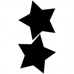 фото Набор: доска для заметок меловая и маркер Securit «Звезды»
