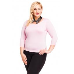 фото Кофта Mondigo XL 023. Цвет: бледно-розовый. Размер одежды: 48