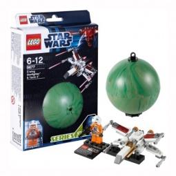 фото Конструктор LEGO Истребитель X-Wing и планета Явин 4