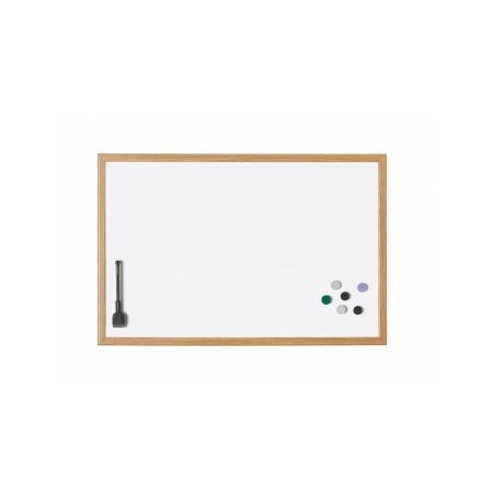 Купить Доска настенная магнитно-маркерная с деревянной рамкой Magnetoplan