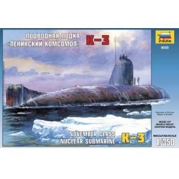 фото Сборная модель подводной лодки Звезда 20913 «Ленинский комсомол К-3»
