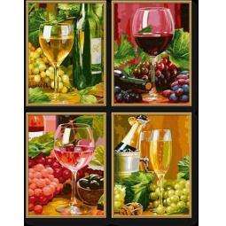 фото Набор для рисования по номерам Schipper «Вино»