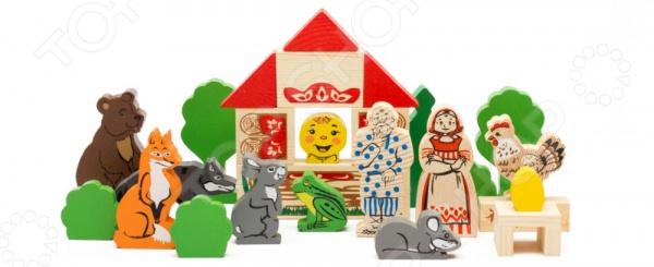 Конструктор деревянный Томик «Первые сказки» 3 в 1Деревянные конструкторы<br>Конструктор деревянный Томик Первые сказки 3 в 1 простой детский конструктор состоящий из множества персонажей из сказок. При их помощи можно собрать сценки из этих сказок, что бы рассказать их ребенку. Детский конструктор является достаточно практичным учебным пособием, так как он развивает память, мышление, логику, фантазию, а также моторику рук.<br>