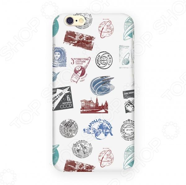 купить Чехол для iPhone 6 Mitya Veselkov «Штампики о космосе» недорого