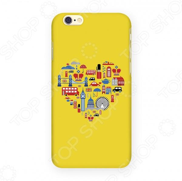Чехол для iPhone 6 Mitya Veselkov «Лондон» цена