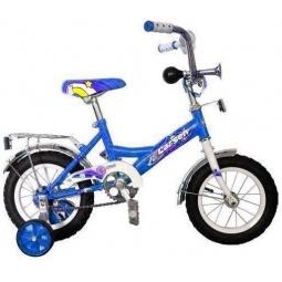 фото Велосипед Larsen Kids 12, 2012 года. Цвет: синий