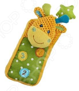 Мягкая игрушка развивающая Жирафики «Телефон Жирафик» кинетический песок kinetic sand золотой
