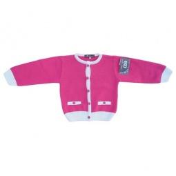 Купить Кофта для девочек EKO «Контраст». Цвет: розовый