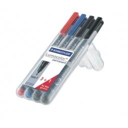 Набор перманентных маркеров Staedtler 318WP4P