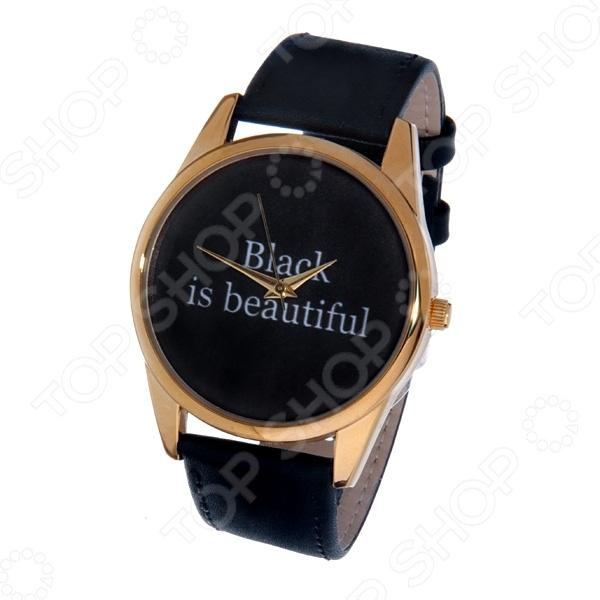 Часы наручные Mitya Veselkov Black is beautiful Gold mitya veselkov зонт mitya veselkov zont black черный