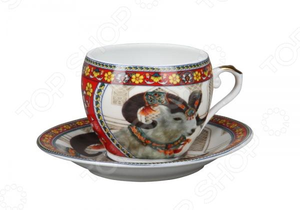 Чашка с блюдцем Rosenberg 8200
