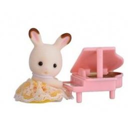 фото Набор игровой Sylvanian Families 5202 «Кролик и рояль»