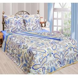 фото Комплект постельного белья Сова и Жаворонок «Индиго». 2-спальный. Размер наволочки: 50х70 см — 2 шт