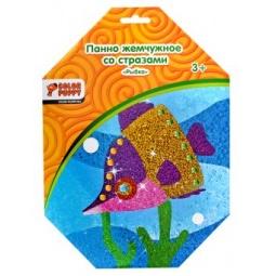 фото Набор для детского творчества Color Puppy «Панно из жемчужных шариков. Рыбка»