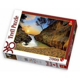 Купить Пазл 2000 элементов Trefl «Восход солнца»