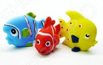 Набор игрушек для ванны Жирафики «Маленькие рыбки» игрушки для ванны жирафики набор для купания черепашка и пингвин