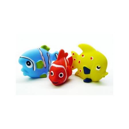 Купить Набор игрушек для ванны Жирафики «Маленькие рыбки»