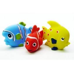 фото Набор игрушек для ванны Жирафики «Маленькие рыбки»