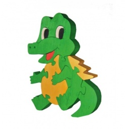 Купить Пазл деревянный Tree tone «Крокодильчик»