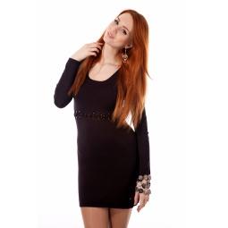 фото Платье Mondigo 9766. Цвет: коричневый. Размер одежды: 46