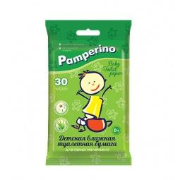 фото Бумага туалетная влажная для детей Pamperino №30