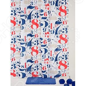 Штора для ванной White Fox WBCH10-317 Ground Joy