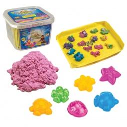 фото Набор для лепки из песка Космический песок. Цвет: розовый