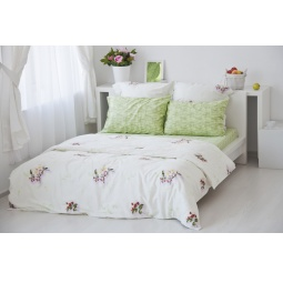 Купить Комплект постельного белья Tete-a-Tete «Цвет». 1,5-спальный