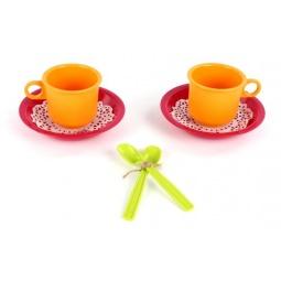 фото Набор посуды детской Росигрушка «Чайная пара Розе»