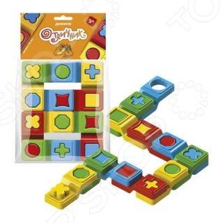 Домино детское Биплант «Отличник» игры для малышей биплант домино отличник 6 шт