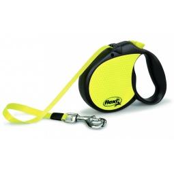 Купить Поводок-рулетка Flexi Neon Reflect 3 L