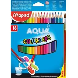 фото Набор акварельных карандашей с кистью Maped 836012 Aqua